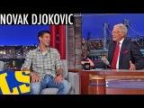 Novak Djokovic Talks the U.S. Open on David Letterman