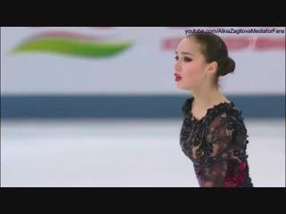 Alina Zagitova Russian Nationals 2019 FS Practice Carmen_HD