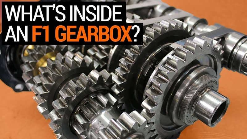 What's Inside an F1 Gearbox ( How it Works)