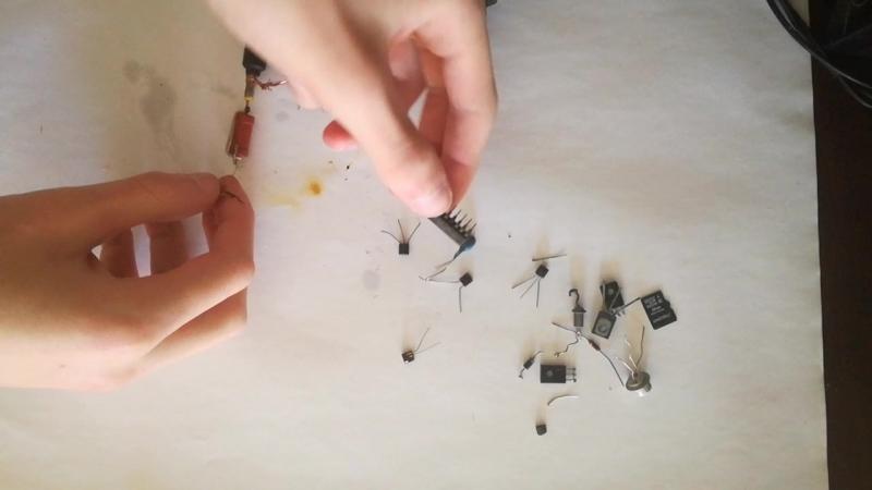 Как сгорает микросхема