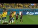 Футбол Бразилия - Германия 1:7 1/2 финала ЧМ-2014 по футболу 8 июля