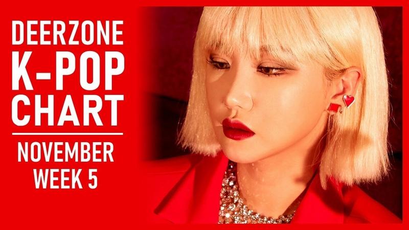 DEERZONE K-POP CHART | NOVEMBER 2018 | WEEK 5