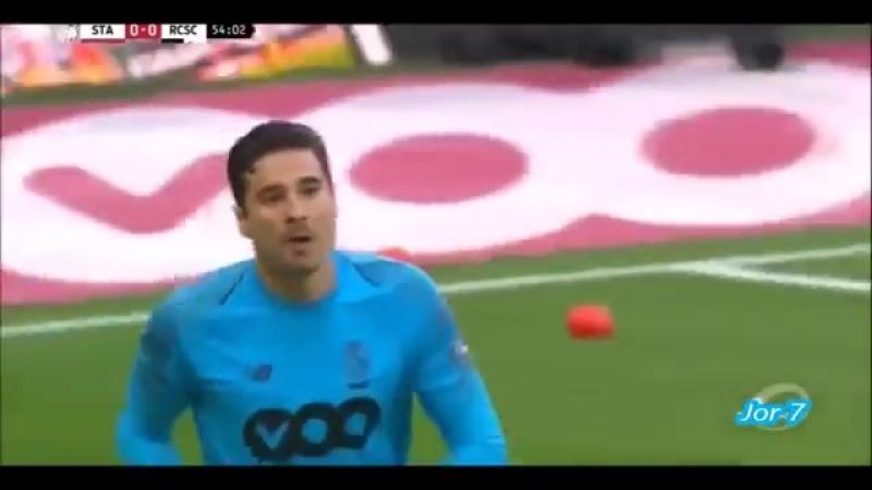 Guillermo Ochoa AtajadasParadesSaves Standard Liege vs RSC Charleroi