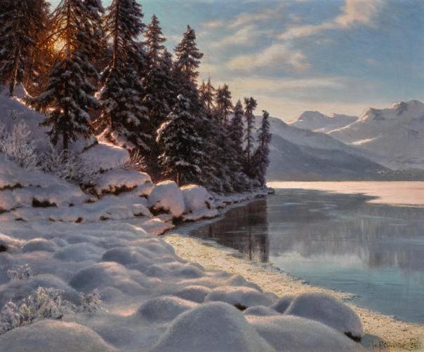 Иван Шультце и самый пушистый снег в живописи. Его картин почти нет в русских музеях. Но при жизни художника их покупали даже члены царской семьи. Также картины Ивана Шультце были в частной