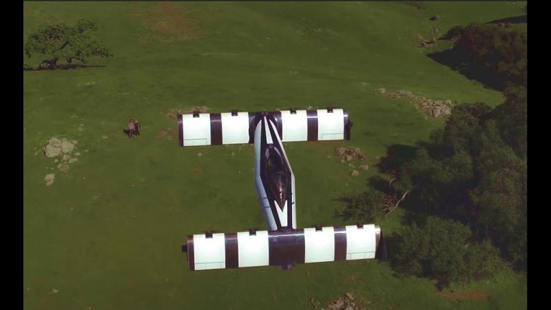 Первая в мире летающая машина BlackFly