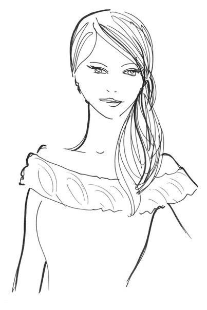 Как правильно сочетать прическу с вырезом на платье ☝ Сохрани себе на стену, чтобы не потерять! 📌
