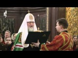 В день вмч. Варвары Патриарх совершил литургию (29 мин.)