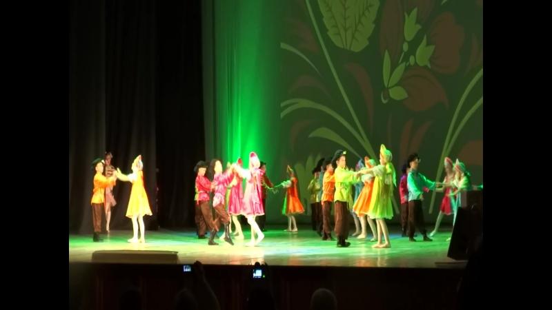 Хрустальный башмачок с танцем Вологда на конкурсе Серебряная Галатея