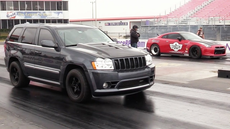 MONSTER Jeep vs GTR This is a Great Race