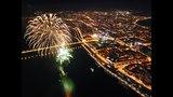 День победы. Праздничный салют 9 мая 2018 в Красноярске