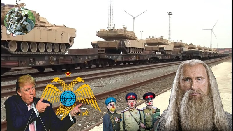 США перебрасывают в Восточную Европу тысячи танков.