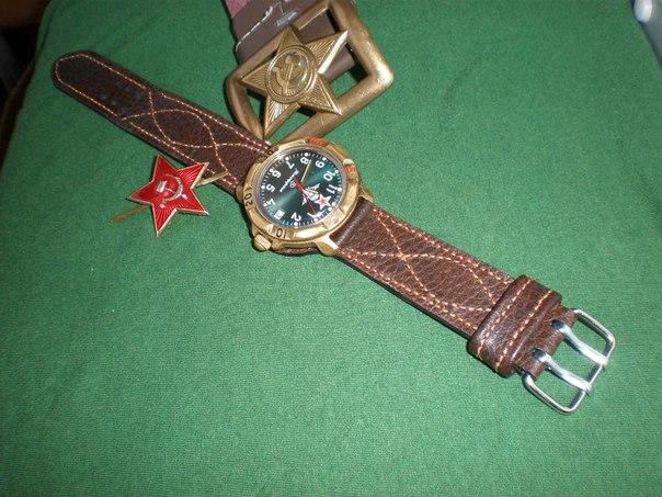 Ремешок из кожи на часы своими руками