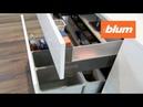 Изделия фирмы Blum с электрической системой SERVO-DRIVE