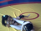 female wrestling Geri vs Stela