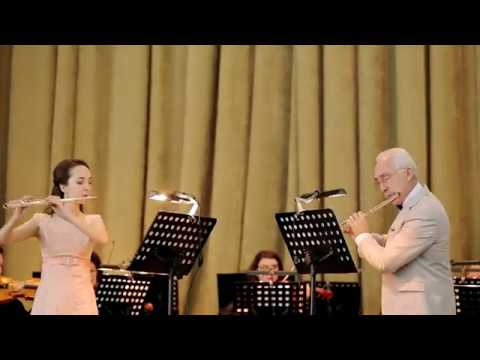 A.Vivaldi Concert C-dur for 2 flute and orshestra