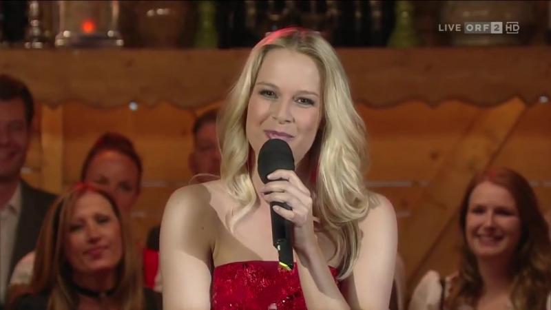 🎼Linda Fäh - Augen wie Feuer (Musikantenstadl - ORF2 HD 2014 may03)