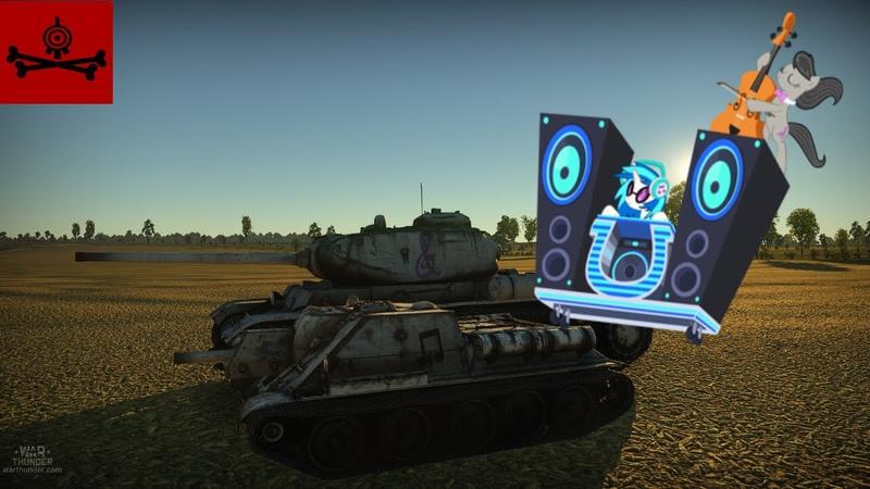 War Thunder Skins: Octavia KV-85 and Vinyl Scratch SU-122