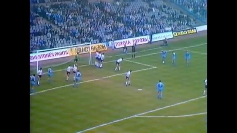 Um gol que vc não vê todo dia de Dennis Tueart contra o Swansea, em 1982