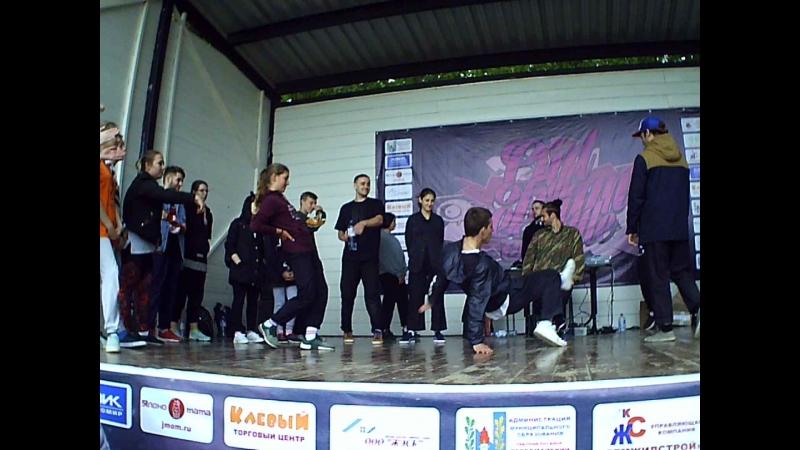 OOT2018|Hip-Hop Pro Semifinal|Vukol vs Колян Гурин