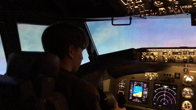 Мой полет на Boeing 737-800