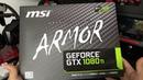 Analise da Construção da MSI Armor 1080ti Unboxing e Review