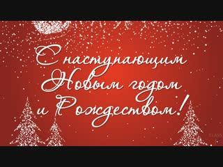 Ольга Бойко поздравляет с Новым годом