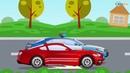 Смотреть онлайн для детей смотреть мультики про СМЕЛУЮ Полицейскую Машинку в Городке Видео Развиваю