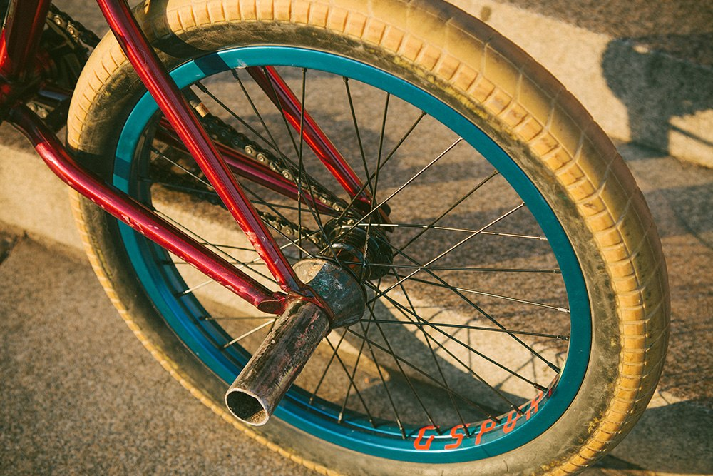 Alex Donnachie bikecheck rear wheel