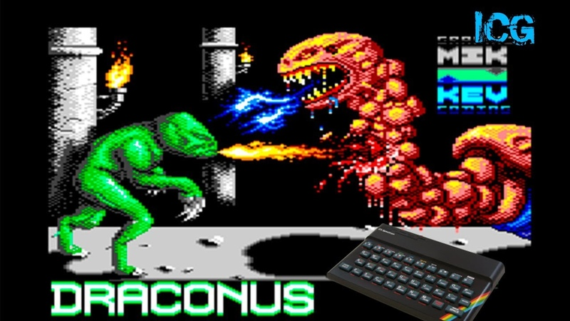 Draconus (ZX Spectrum) Прохождение
