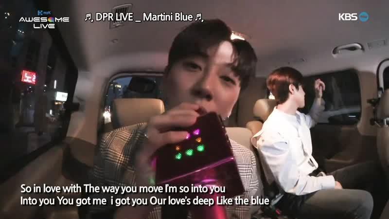 [190309] Pick up Live - No TaeHyun, Kim DongHan, JBJ95 [myK Awesome live]