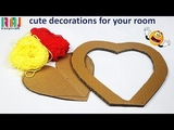 cute decorations for your room best of waste project Wool art and craft