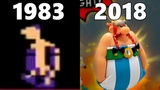 Evolution of Asterix and Obelix Games 1983-2018