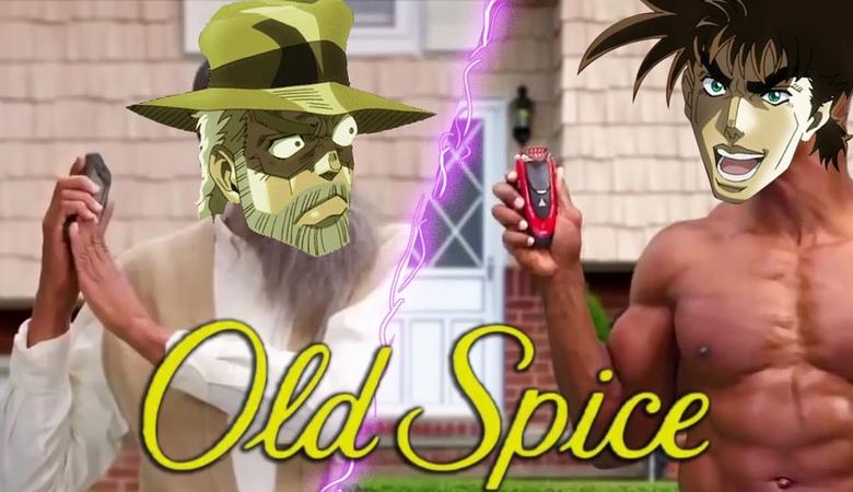 Joseph Joestar's Old Spice Nightmare