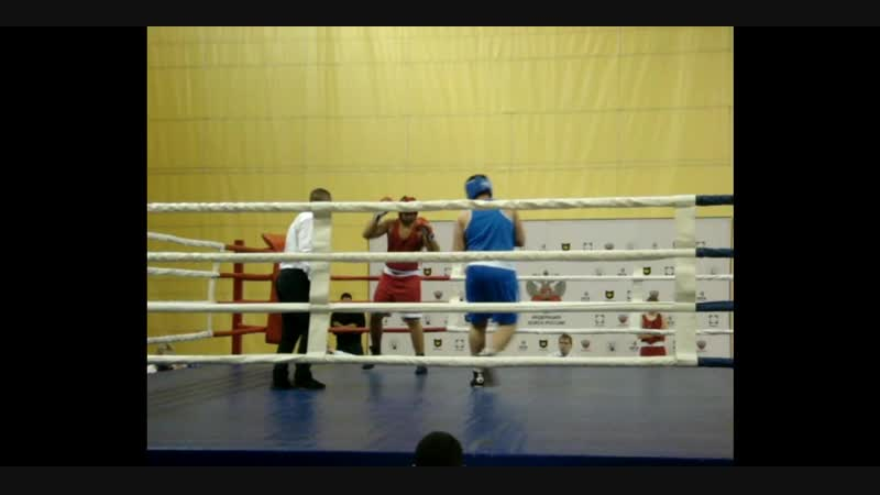 16-19 января 2019 г. Первенство Самарской области. Полуфинальный бой Кусаимова А. Нокаут. Это бокс.