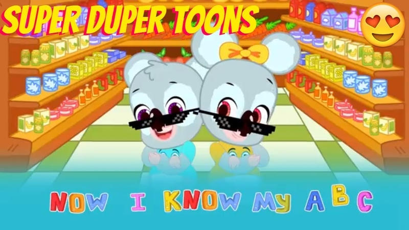 Koala kids! ABC song! Educational Cartoons! Nursery Rhymes Super Duper Toons