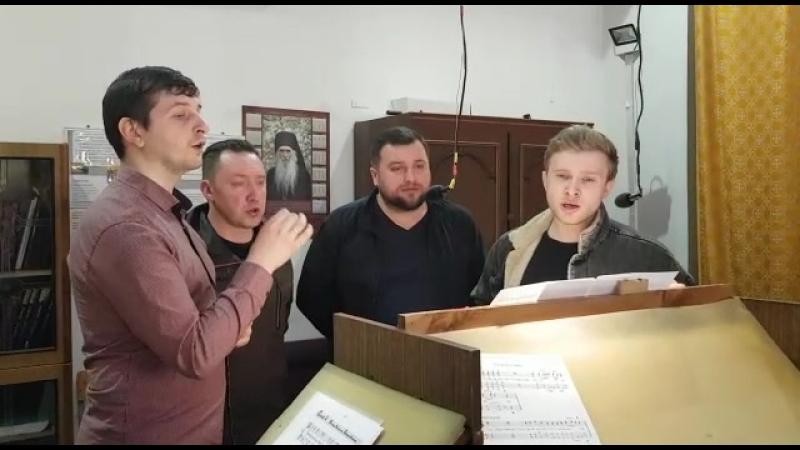 МХ_ХСМС - Иже Херувимы ч.2 - регент Василий Голбан
