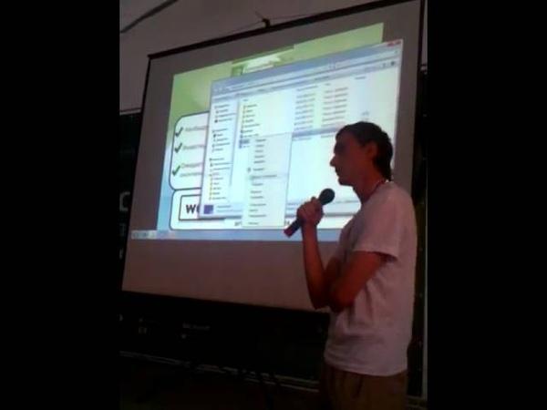 WooS presentation at Seliger 2011