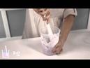 Процесс изготовления объемных слепков ручки и ножки малыша Baby Art