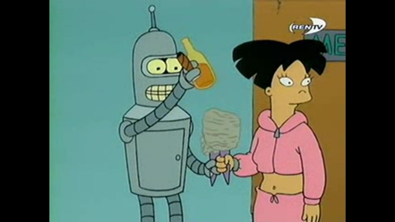 Futurama s1e02 The Series Has Сегмент1 00 10 00 944 00 10 05 000