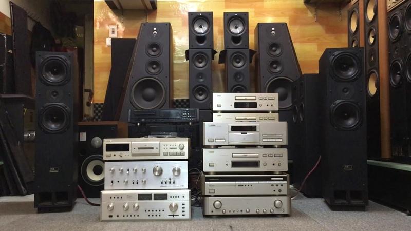 Loa nghe nhạc vàng, Loa TDL Electronic RTL3, Amply Marantz PM 74D, Bá Hùng Audio - 0978.263.263