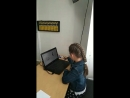 Маша 8 лет, почти 3 месяца занятий