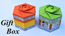 Gift Box   how to make a gift box  gift box ideas   crafts on paper
