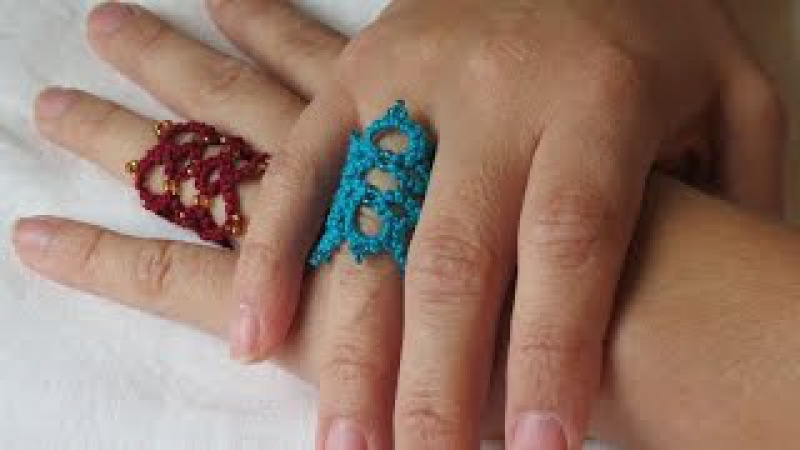 Needle Tatting Finger Ring