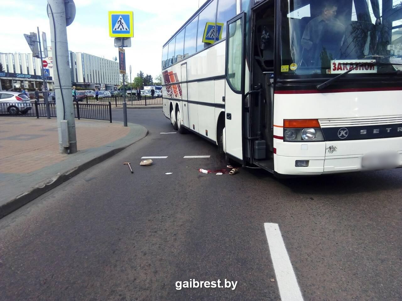 На пешеходном переходе тяжело травмирована пенсионерка