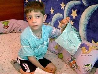 130524 Андрюша Разводов: Помогите малышу  встать на ноги!