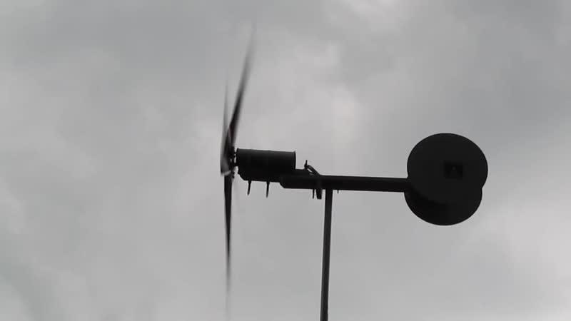 Ветрогенератор из дрели