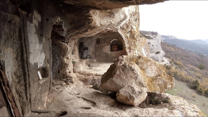 Крым Пещерный монастырь Челтер Мармара