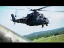 Летно-тактическое учение экипажей вертолетов Ми-24 и Ми-8 морской авиации Балтийcкого флота.