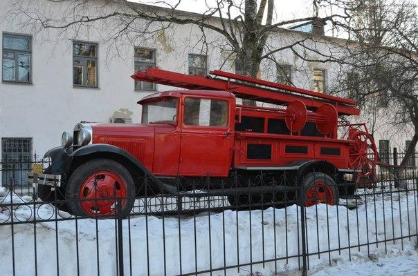 Пожарная машина на базе ГАЗ-АА