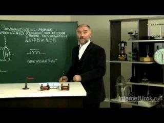Магнитное поле катушки с током Электромагниты Физика 8 класс sp00000248